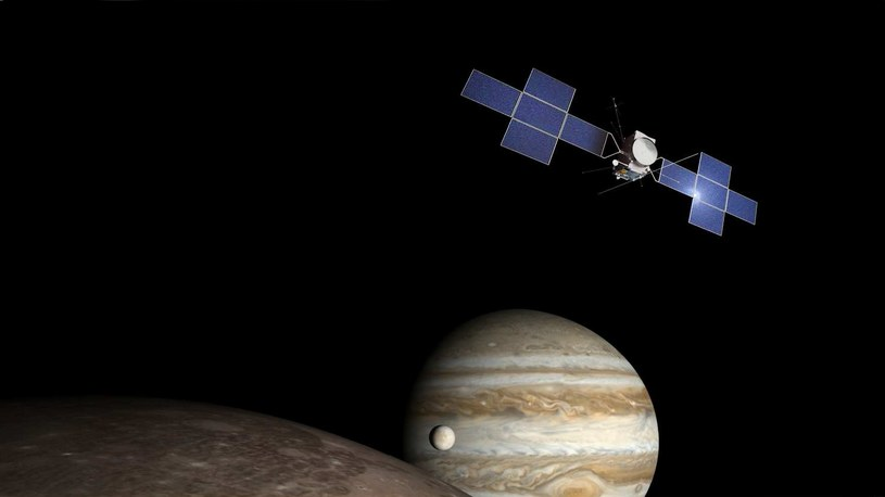 W 2022 r. sonda JUICE wystartuje w kierunku księżyców Jowisza /materiały prasowe