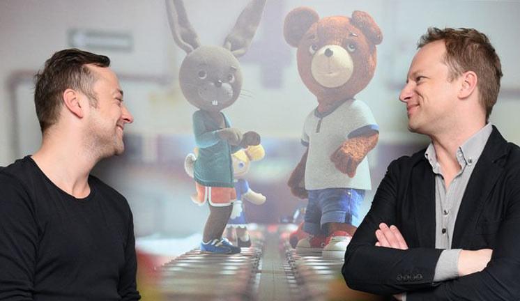 """W animacji """"Miś Uszatek"""" usłyszymy głosy Czesława Mozila i Macieja Stuhra /fot. Zoom /materiały prasowe"""