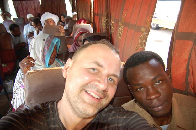 W autobusie w Sudanie /fot. Mariusz Majewski /INTERIA.PL