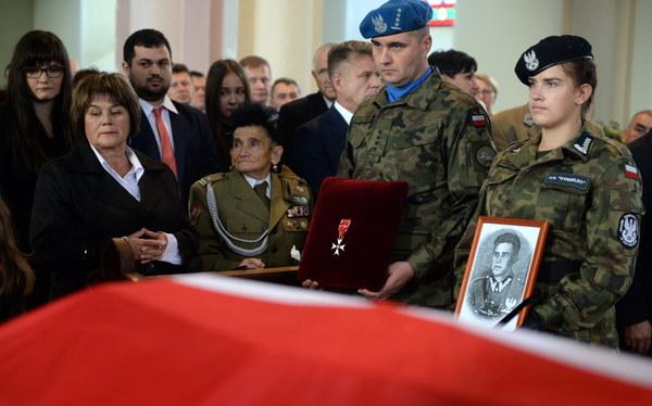 """Żona Aleksandra Życińskiego """"Wilczura"""" - major Józefa Życińska"""