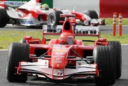 W bolidzie Ferrari zawiódł silnik / Kliknij /AFP