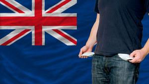 W.Brytania: Spadek płac - jeden z najwyższych w UE