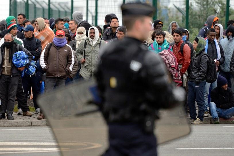 W Calais są setki imigrantów /AFP