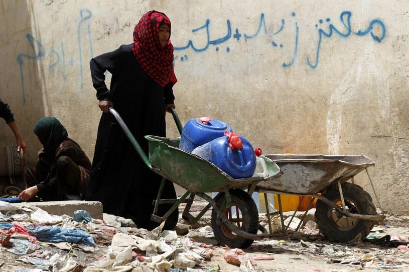 W całym kraju sytuacja humanitarna jest bardzo zła /PAP/EPA