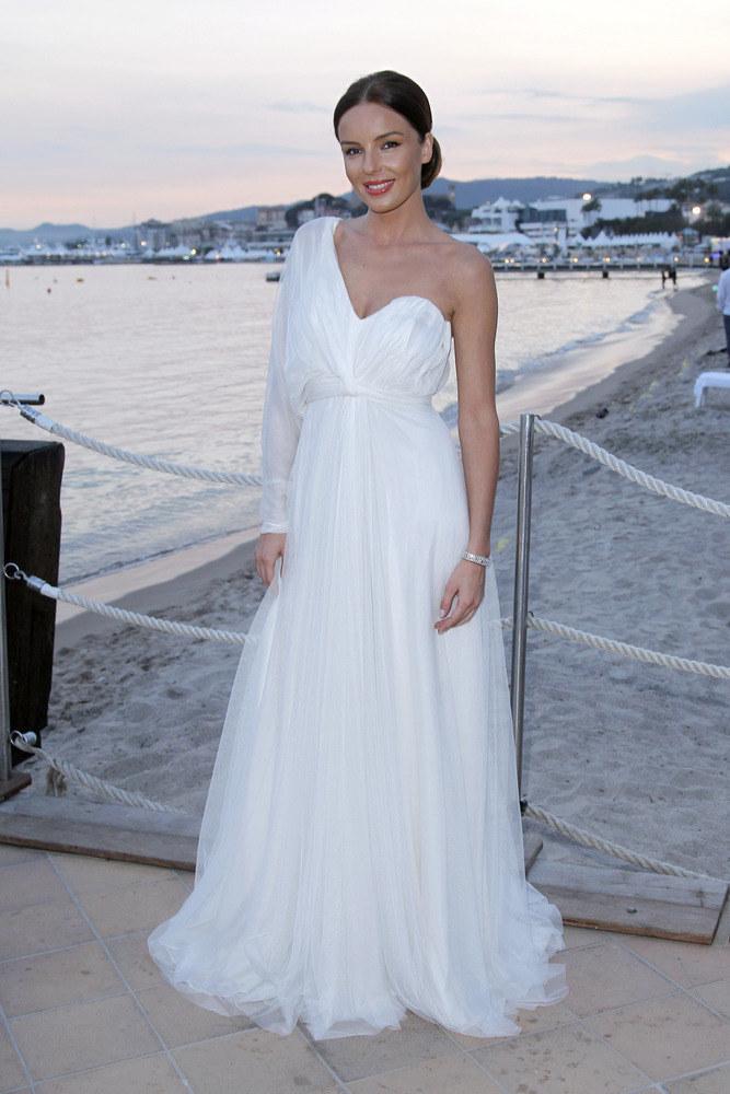W Cannes aktorka była gwiazdą wieczoru  /Andrzej Engelbrecht /AKPA