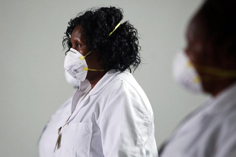 W centrum leczenia Eboli w Monrowii doszło prawdopodobnie do buntu pacjentów. /DANIEL IRUNGU  /PAP/EPA