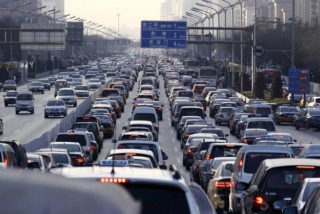 W Chinach sprzedaż aut rośnie dynamicznie /AFP