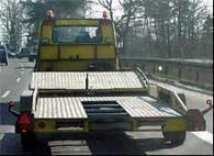 W Chrzanowie tylko trzy firmy moga pomagać na drogach /RMF