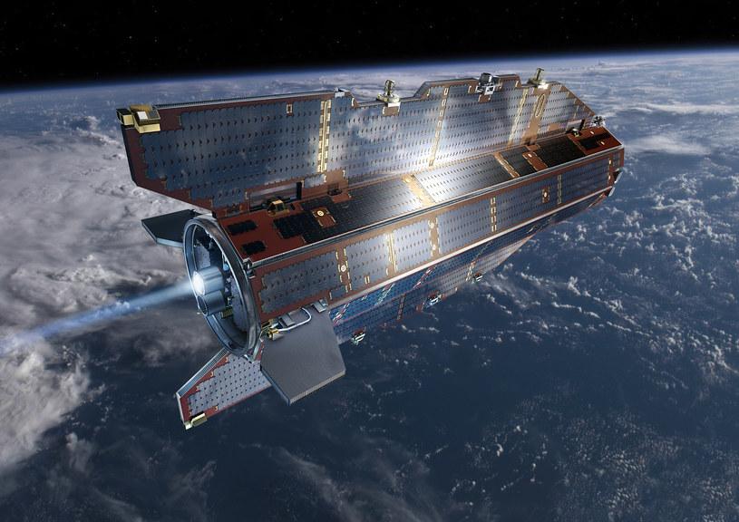 W ciągu dwóch lub trzech tygodni od momentu zakończenia pracy silnika GOCE, satelity ulegnie znisczeniu w atmosferze /AFP