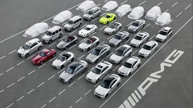 W ciągu najbliższych 5 lat gama AMG ma zostać poszerzona z obecnych 22 do około 30 modeli. /Mercedes