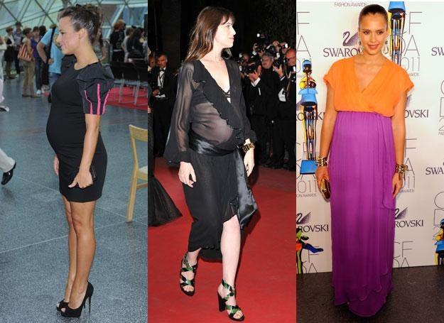 W ciąży też można wyglądać stylowo / fot. MWMedia/fot.J.Antoniak /Getty Images/Flash Press Media