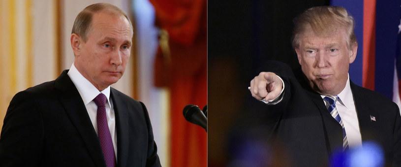 W czasie kampanii Donald Trump ciepło wypowiadał się o Władimirze Putinie /AFP