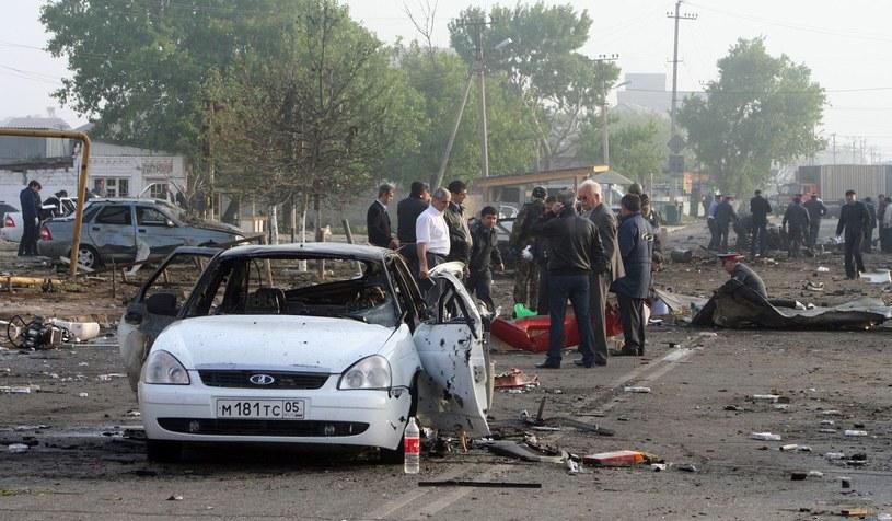 W Dagestanie często dochodzi do zamachów bombowych /AFP