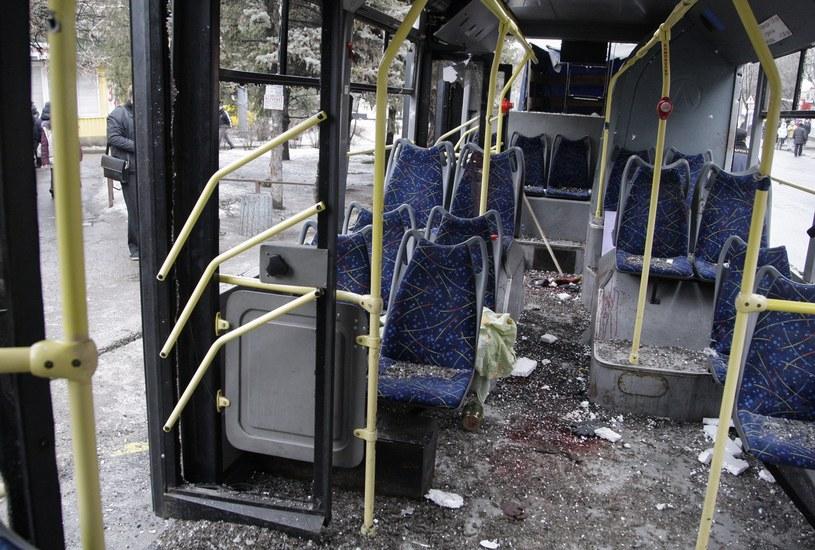 W Doniecku zginęło przynajmniej siedem cywilów /PAP/EPA