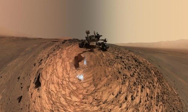 """W drodze na Marsa prawdopodobnie będziemy musieli """"zatrzymać"""" się na Księżycu /NASA"""