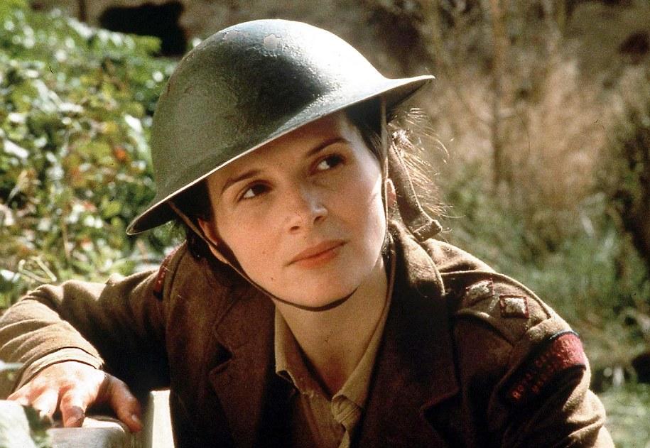 """W ekranizacji """"Agnielskiego pacjenta"""" zagrała m.in. Juliette Binoche [na zdjęciu] /DPA /PAP/EPA"""