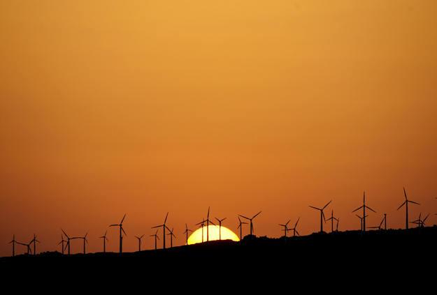 W Europie nie ma miejsca na farmy wiatrowe /AFP