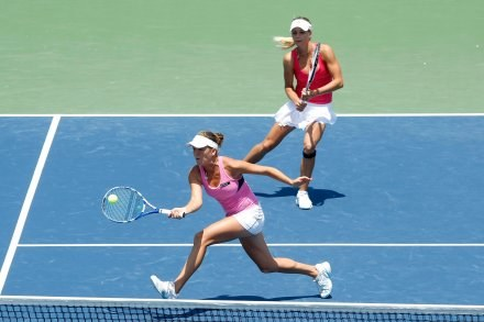 W finale turnieju deblowego Polka i Rosjanka Maria Kirilenko przegrały z Chia-Jung Chuang/ Zi Yan /AFP
