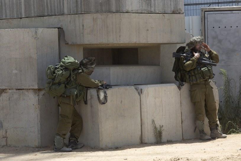 W Gazie trwają walki /PAP/EPA