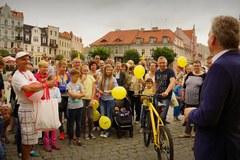 W Gnieźnie rozdaliśmy rowery od RMF FM