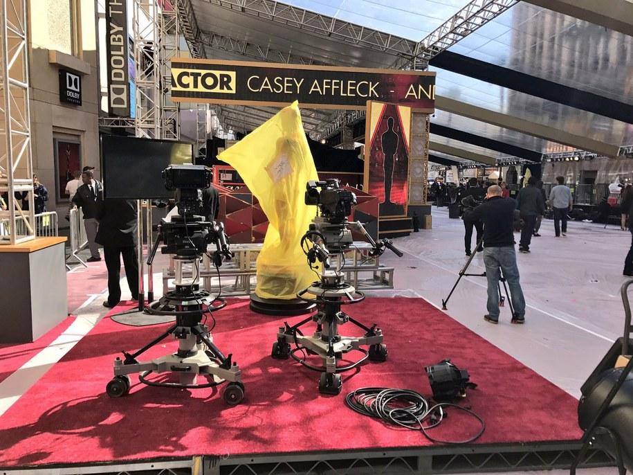W Hollywood trwają ostatnie przygotowania do oscarowej gali /Paweł Żuchowski /RMF FM
