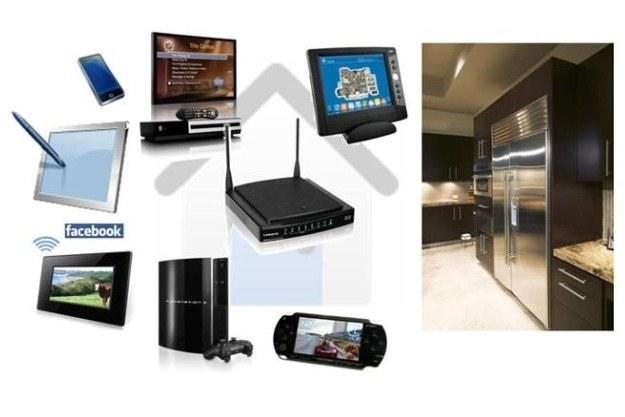 W intelowskim domu przyszłości wszystkie urządzenia będą połączone za pomocą sieci bezprzewodowej /materiały prasowe