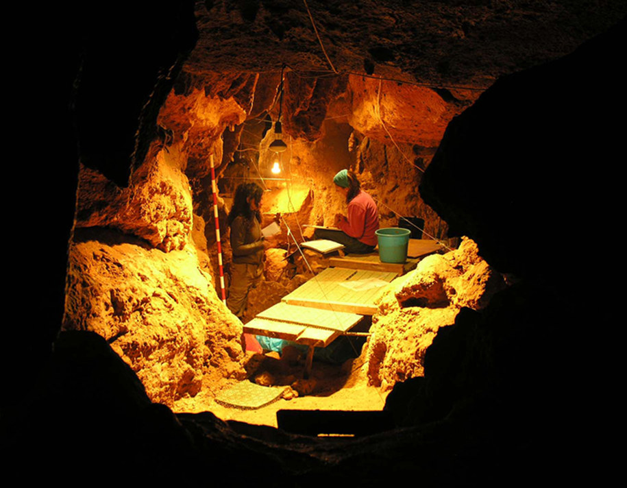 W jaskini El Sidron znaleziono szczątki 12 Neandertalczyków sprzed około 49 tysięcy lat /Paleoanthropology Group MNCN-CSIC; Fot. Antonio Rosas /materiały prasowe