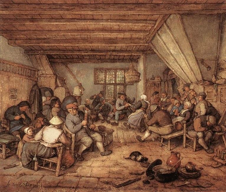 W karczmach wieczorami gromadziły się tłumy /Agnieszka Lisak – blog historyczno-obyczajowy