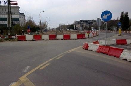W Katowicach kierowcy mają na co narzekać /RMF/INTERIA.PL