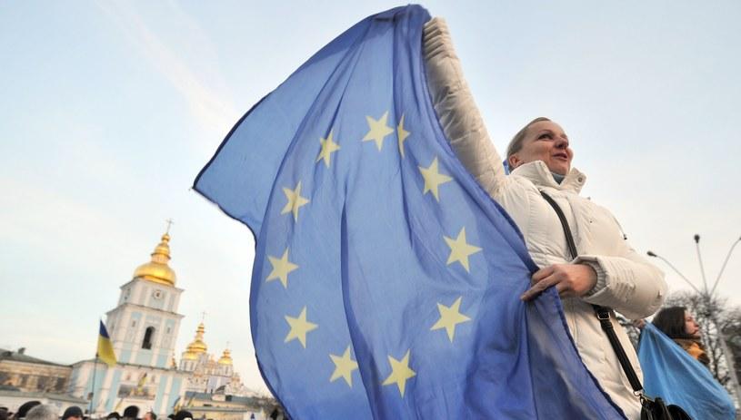 W Kijowie trwają demonstracje zwolenników umowy stowarzyszeniowej z Unią Europejską /AFP