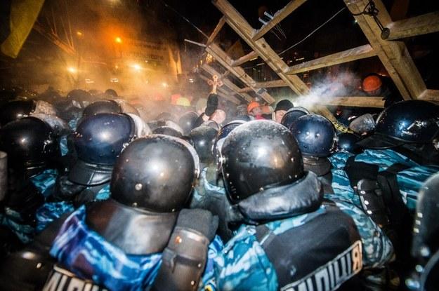 W Kijowie trwają protesty /AFP