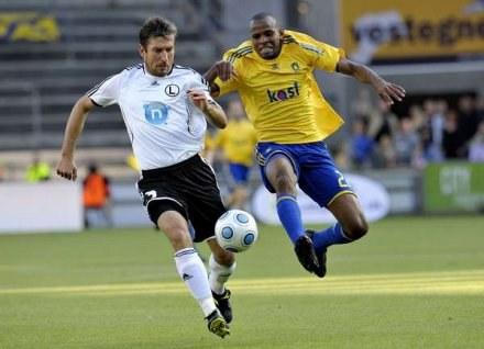 W Kopenhadze Legia zremisowała z Broendby 1:1. Jak będzie w rewanżu? /AFP