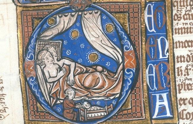 W kościele za nieprzestrzeganie zasad związanych z seksem groziły surowe kary /medievalists.net /INTERIA.PL
