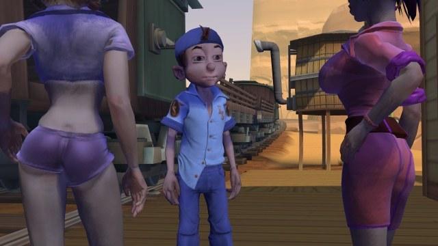 W Leisure Suit Larry: BoB otrzymamy dużą swobodę w eksploracji wirtualnego świata /INTERIA.PL
