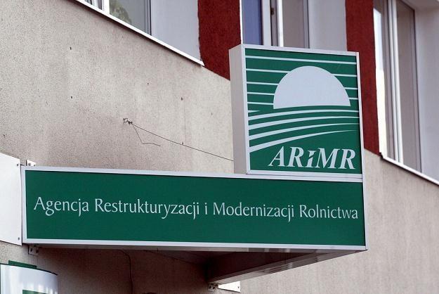 """W liście do rolników oszuści posługują się logo ARiMR z przestawionymi literami """"ARMiR""""/fot. D.Gacek /Reporter"""
