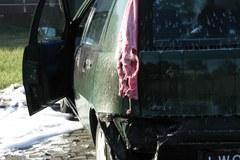 W Łodzi podpalono 10 samochodów