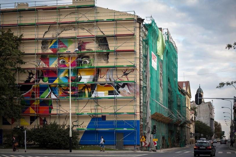 W Łodzi powstaje mural z wizerunkiem Artura Rubinsteina /Fundacja Urban Forms/Facebook /
