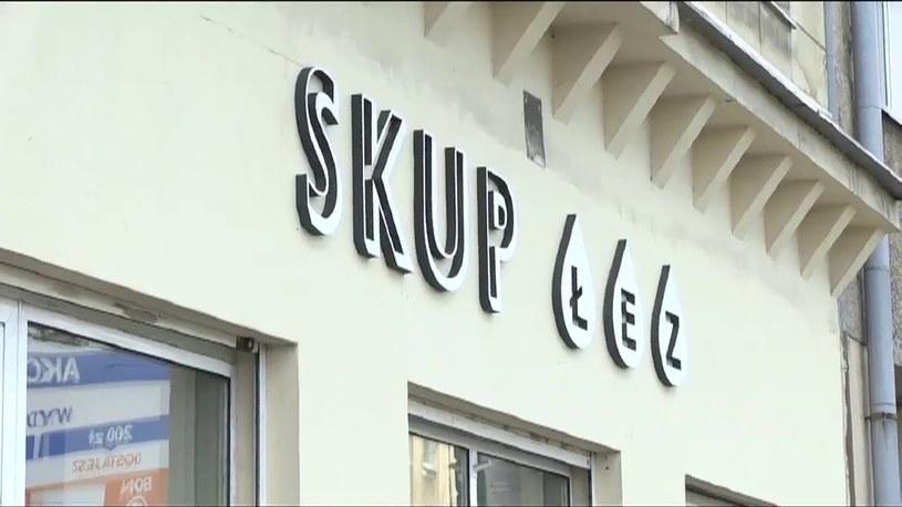 W Lublinie otwarto Skup Łez. Za 3 mililitry można dostać 100 zł /TVN24/x-news