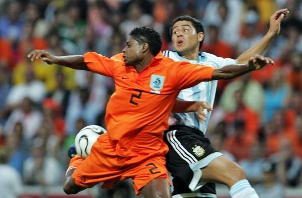W meczu Argentyny z Holandią nie brakowało walki, ale zabrakło bramek. /AFP