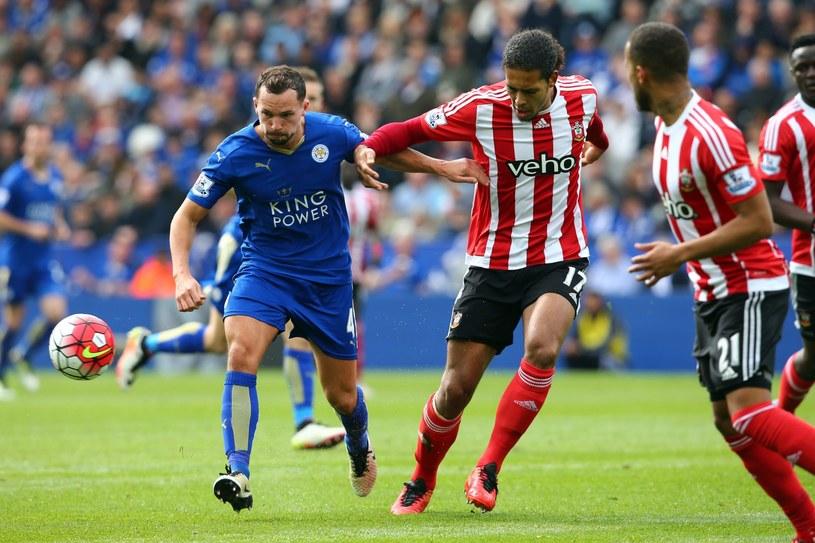 W meczu Leicester - Southampton walka szła o każdą piłkę /Tim Keeton /PAP