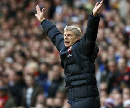 W meczu z MU menedżer Arsenalu miał powody do radości. /AFP