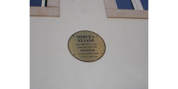 na jednej z uliczek odkrylam, ze mieszkal tutaj moj autorytet Mircea Eliade.