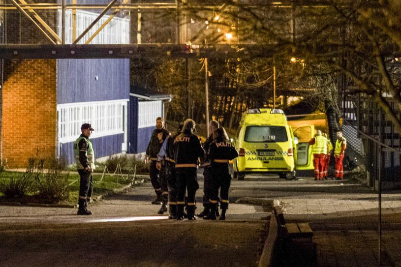 W mieście Kristiansand nieznany napastnik śmiertelnie ranił kobietę i chłopca /AFP