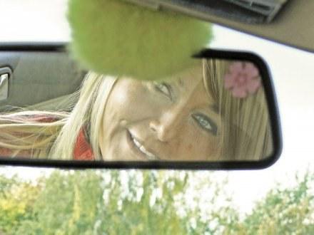 W moim samochodzie zawsze mam coś na szczęście. Tak jak ta koniczynka  - mówi gdańszczanka /EchoMiasta_Trójmiasto