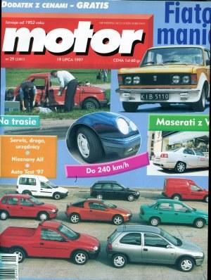 """W """"Motorze"""" nr 29 z 19 lipca 1997 roku /Motor"""