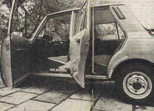 """W """"Motorze"""" nr 46 z 13 listopada 1983 roku - badanie drogowe Wartburga 353 W /Motor"""