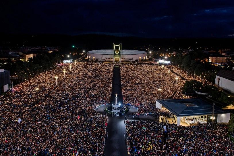 W mszy wzięło udział około 500 tys. osób /RUI PEDROSA /PAP/EPA