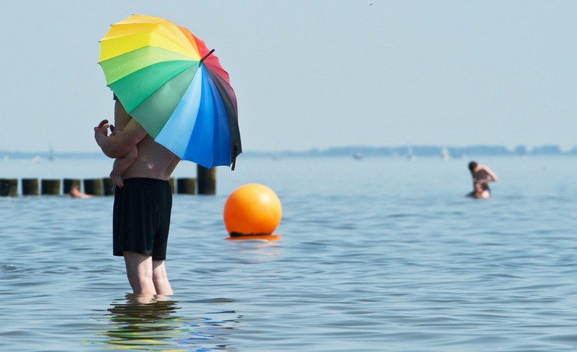 W najbliższych dniach wciąż będzie gorąco /Stefan Sauer    /PAP/EPA