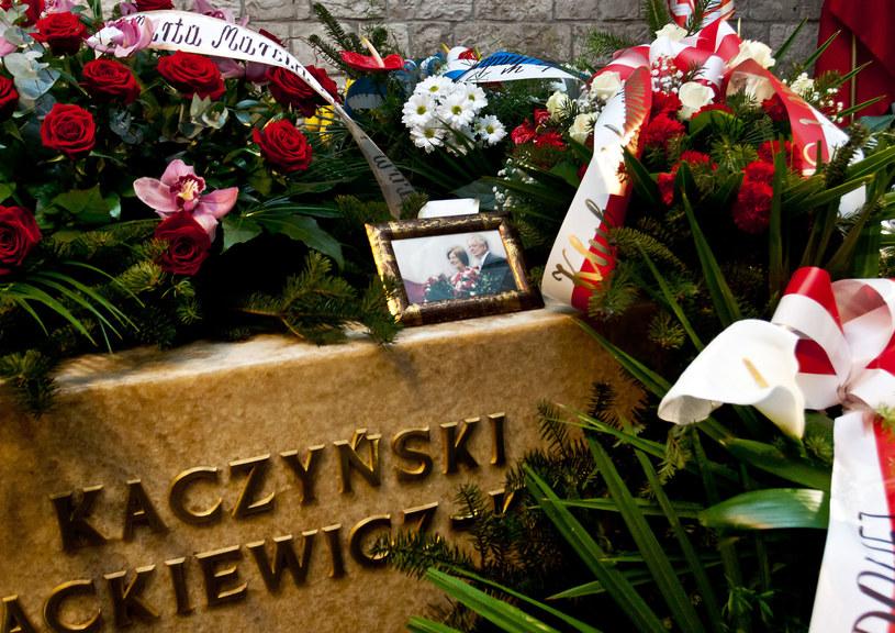 W nocy z 14 na 15 listopada odbyły się ekshumacje Lecha i Marii Kaczyńskich /Piotr Wojnarowski  /Agencja FORUM