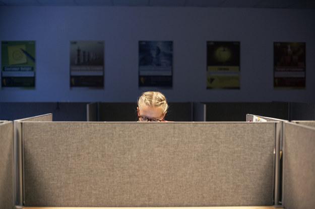 W nowym biurowcu w centrum Łodzi, mieszczącym się przy rondzie Solidarności, pracuje dla Infosysu około 2 tysiące osób /New York Times/©The International Herald Tribune